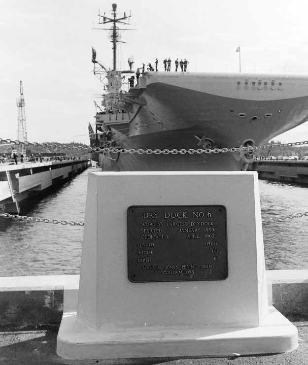 04/23/62 Dry Dock 6 Dedication