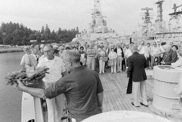 08/31/83 USS Copohee Memorial Steve Zugschwerdt / Bremerton Sun