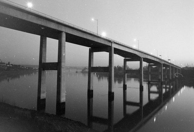 01/29/62 Warren Bridge At Night