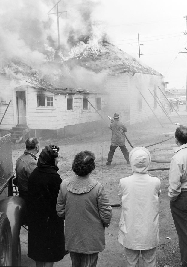 04/10/62 Bremerton FD House Burning