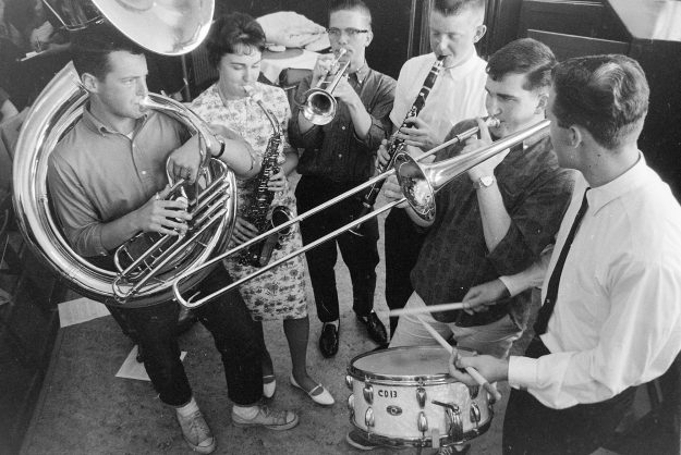 06/08/62 West High Band