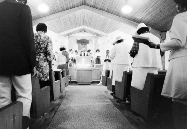 06/19/83 Rev. Taylor's Church Service Mike Siegel / Bremerton Sun