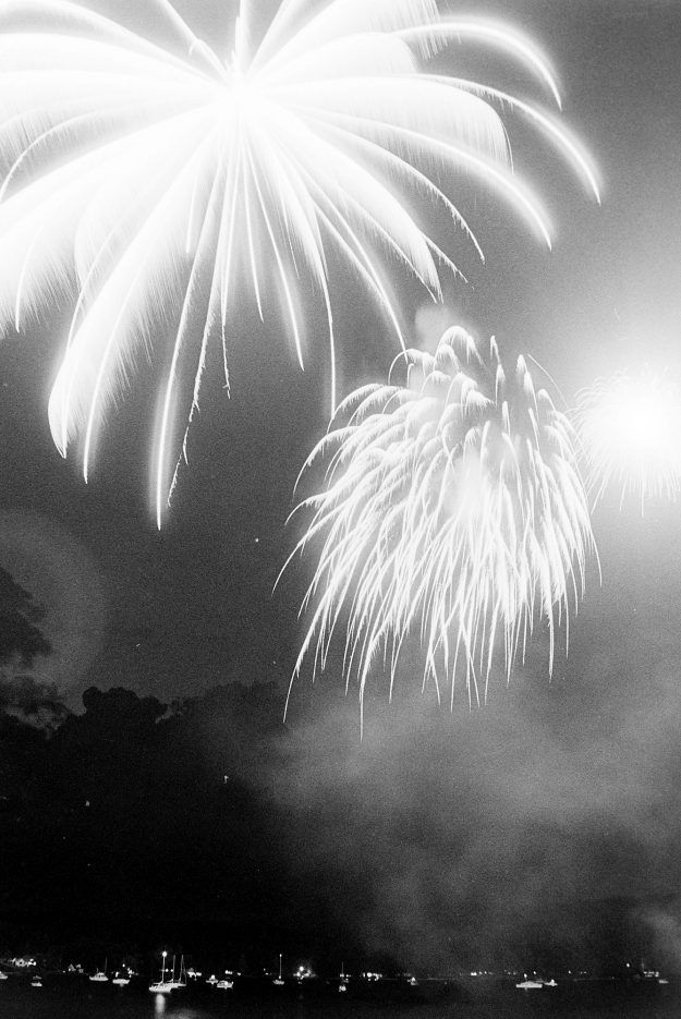 07/01/83 Fireworks at Keyport Base