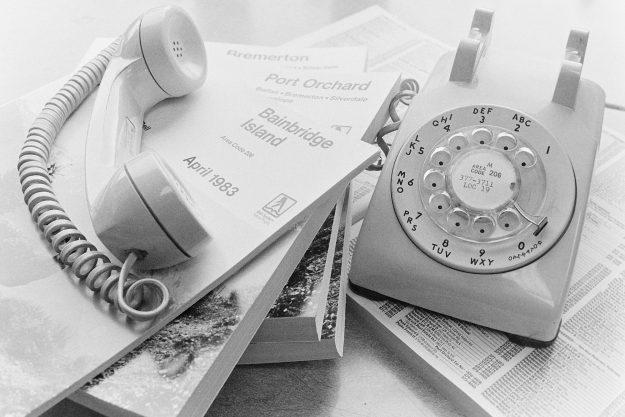 07/05/83 Phone Books Theresa Aubin Ahrens / Bremerton Sun