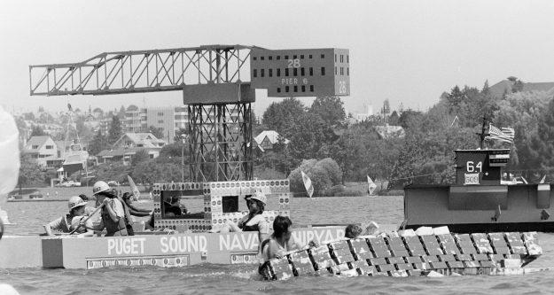 07/16/83 Milk Carton Boat Races
