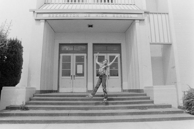 07/18/83 Girl Who Named Middle School Theresa Aubin Ahrens / Bremerton Sun