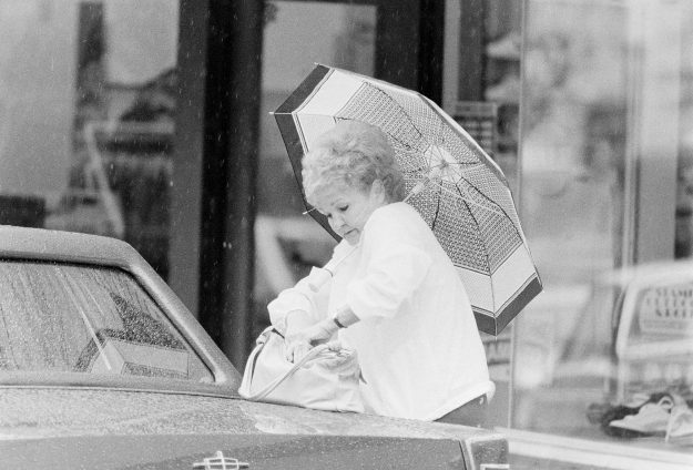 07/26/83 Rainy Day Downtown Bremerton Mike Siegel / Bremerton Sun