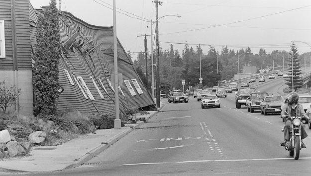 08/07/83 Roosevelt Filed Demo Steve Zugschwerdt / Bremerton Sun