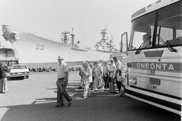 08/18/83 Oneonta Bus Tours Steve Zugschwerdt / Bremerton Sun