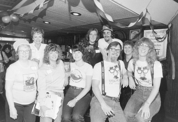 08/25/83 Ugly Bartenders Theresa Aubin Ahrens / Bremerton Sun