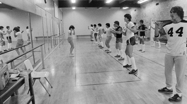08/30/83 Aerobics Workout Steve Zugschwerdt / Bremerton Sun