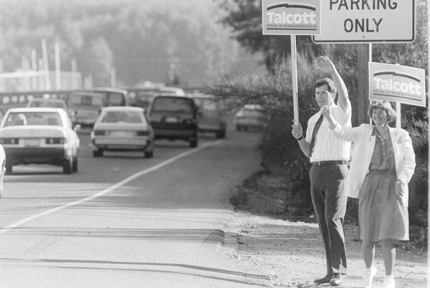 09/20/88 Highway Campaigners Steve Zugschwerdt / Bremerton Sun