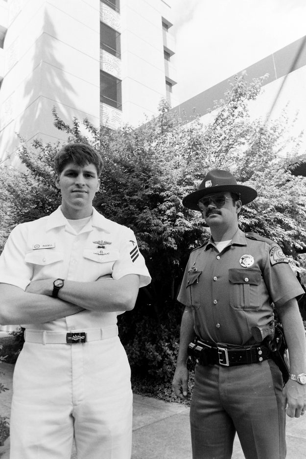 09/20/88 Navy Honored For Civic Valor Steve Zugschwerdt / Bremerton Sun