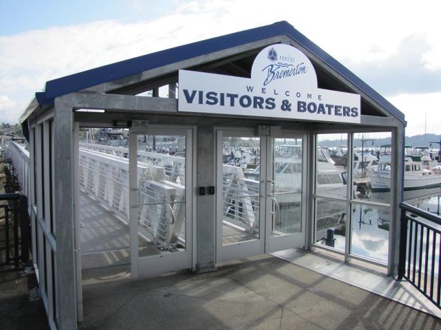 Public entrance to the Bremerton Marina. Photo: Jeff Adams
