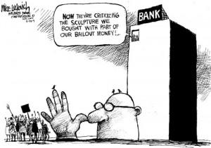 Bailout Sculpture
