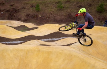 Pump track in Switzerland/International Mountain Bicycling Association