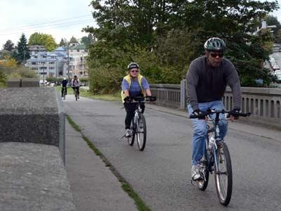 Burke-Gilman Trail, Seattle. Photo: American Trails