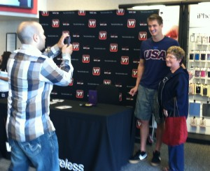First public appearance in Kitsap for Bremerton's Nathan Adrian