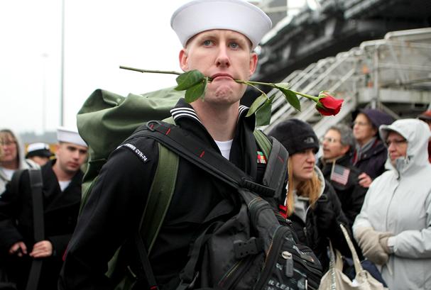 USS Stennis Returns