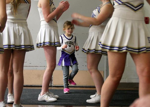 WA Mini Cheerleader