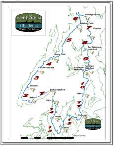 Route of Puget Sound Challenge