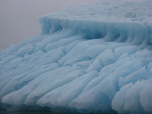 <i>Soot may speed melting of Arctic ice, a new report says.</i><br><small> Photo by Adam Markham, Clean Air - Cool Planet</small>