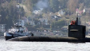 USS San Francisco leaves Bremerton Tuesday // Kitsap Sun photo