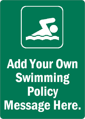 Own Pool Sign MyPoolSigns.com
