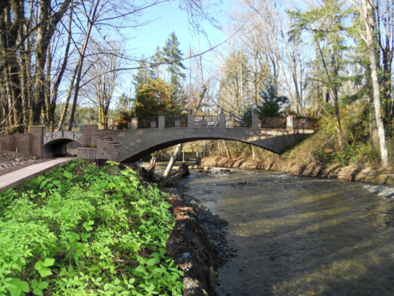 One possibility for the new bridge over Chico Creek on Golf Club Road.