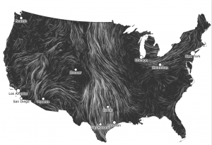Click on the photo to check out the animated Wind Map.