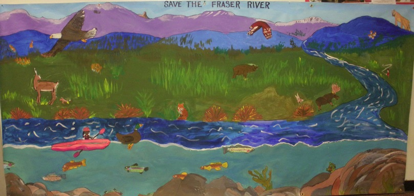 Winning entry from East Grand Middle School in Grandby, Colo. Wyland photo
