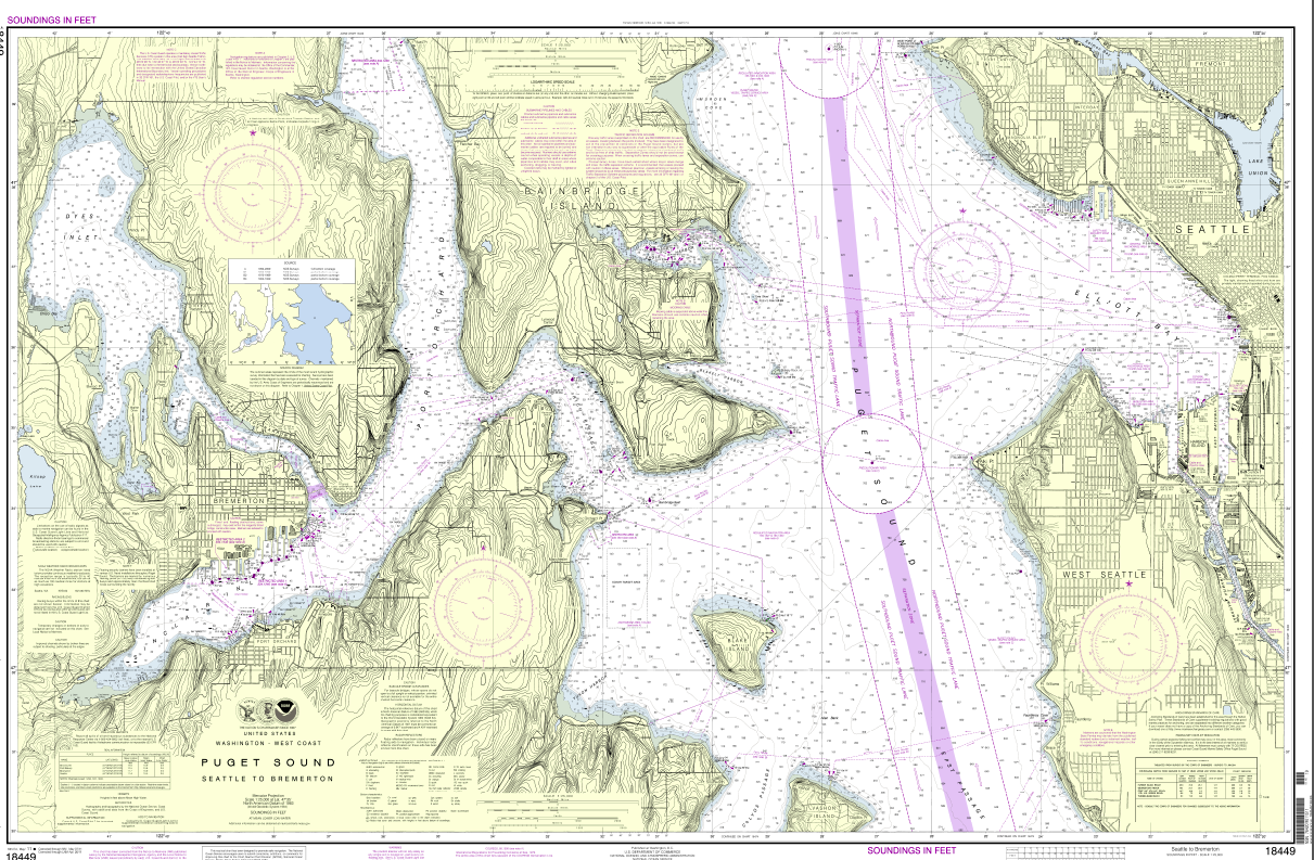 NOAA opens its catalog of nautical charts | Watching Our Water Ways