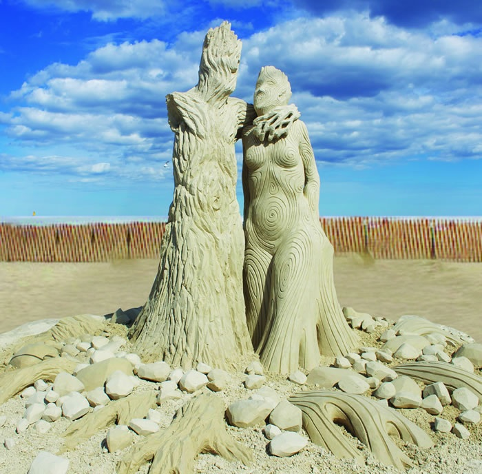 """Putting Down Roots"" by Carl Jara of Cleveland, Ohio, third place Photo courtesy of Hampton Beach"
