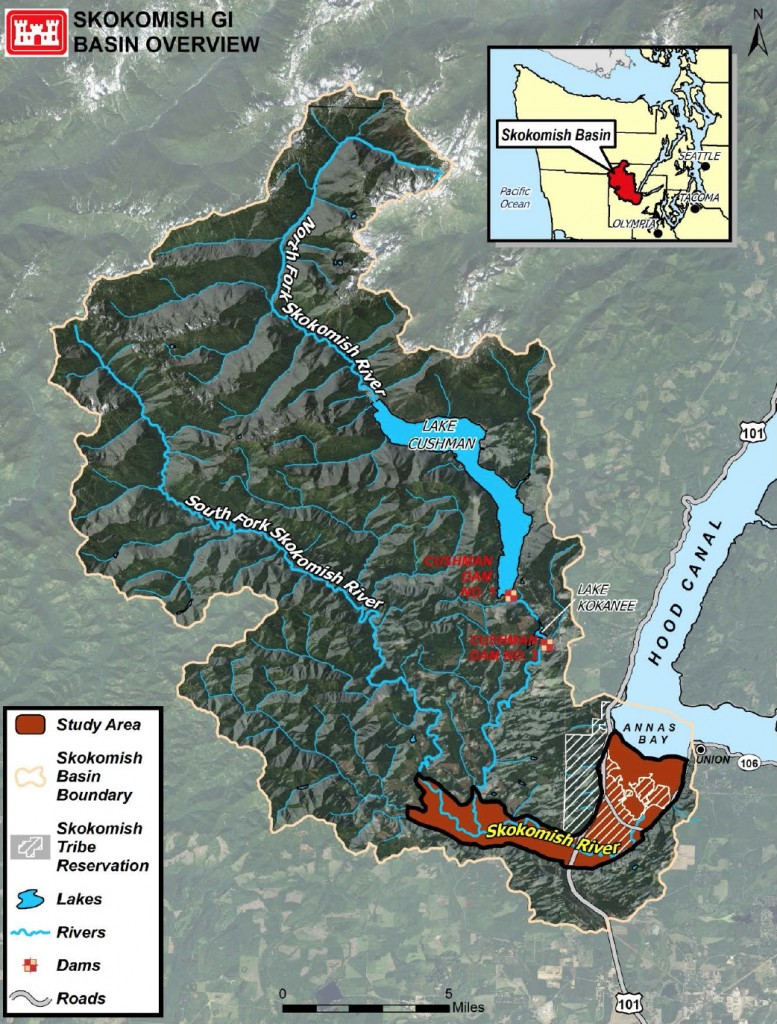 Skok watershed