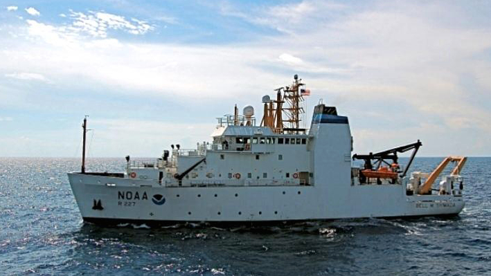 The research vessel Bell M. Shimada will be involved in killer whale studies for the next three weeks.