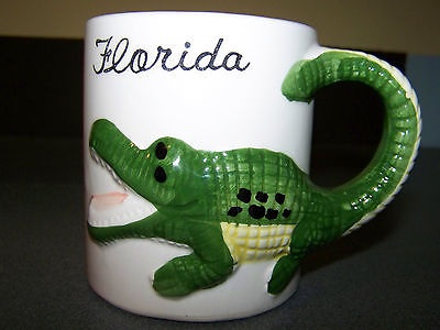 Collectible Florida Gator mug.