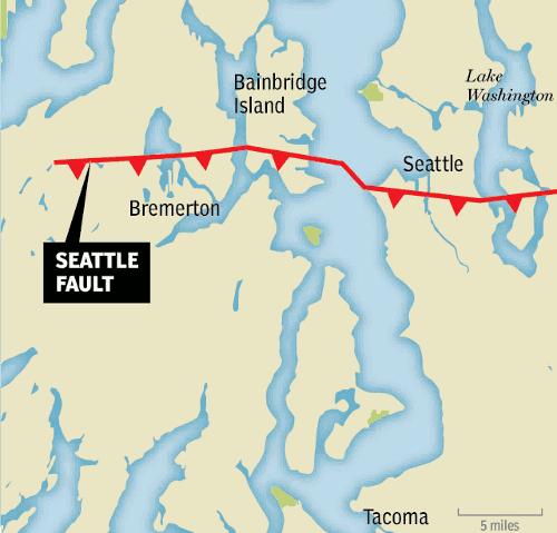 Seattle fault