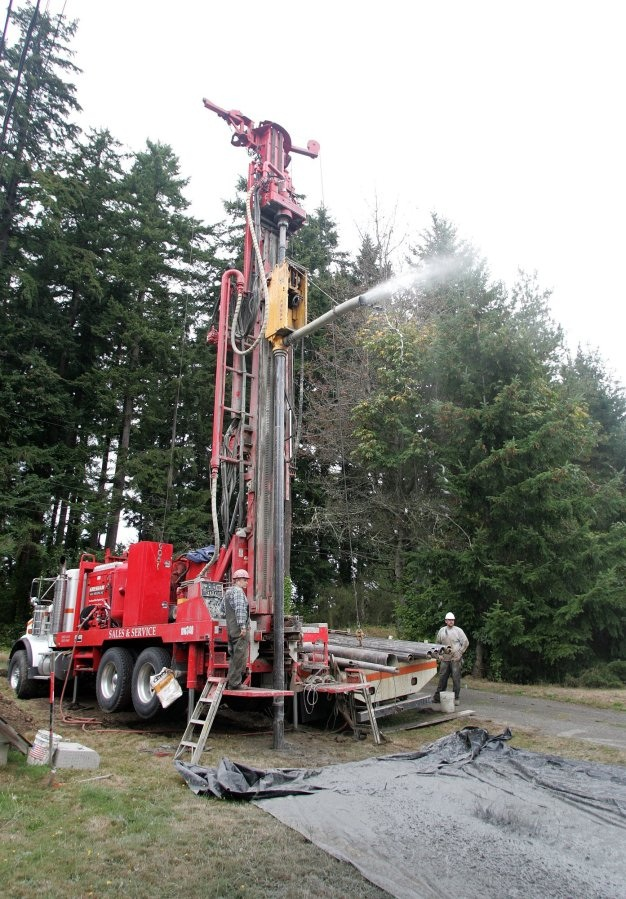 Drilling for water on the Kitsap Peninsula Kitsap Sun file photo