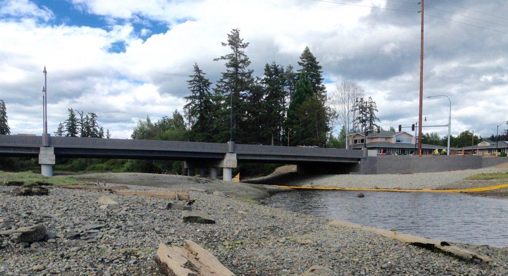 New Bucklin Hill Bridge Photo: C. Dunagan