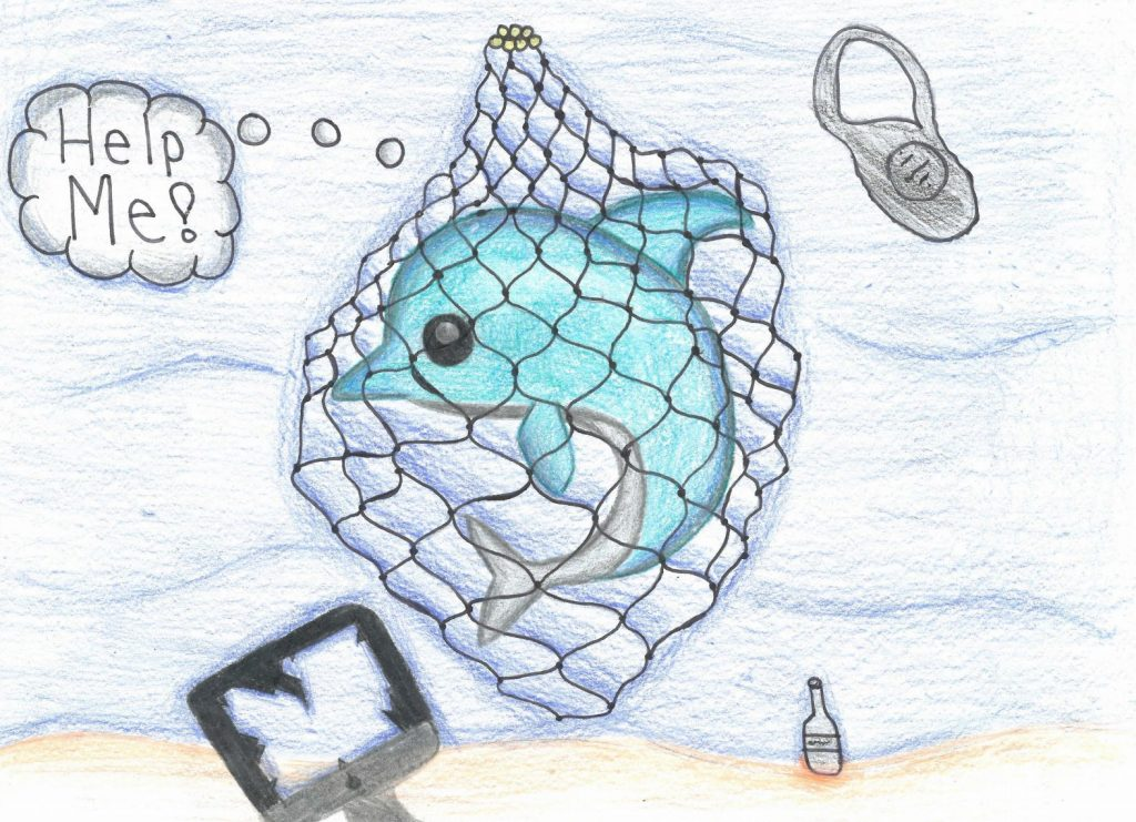 Art by Sallie S., a seventh grader from Washington state Courtesy of NOAA