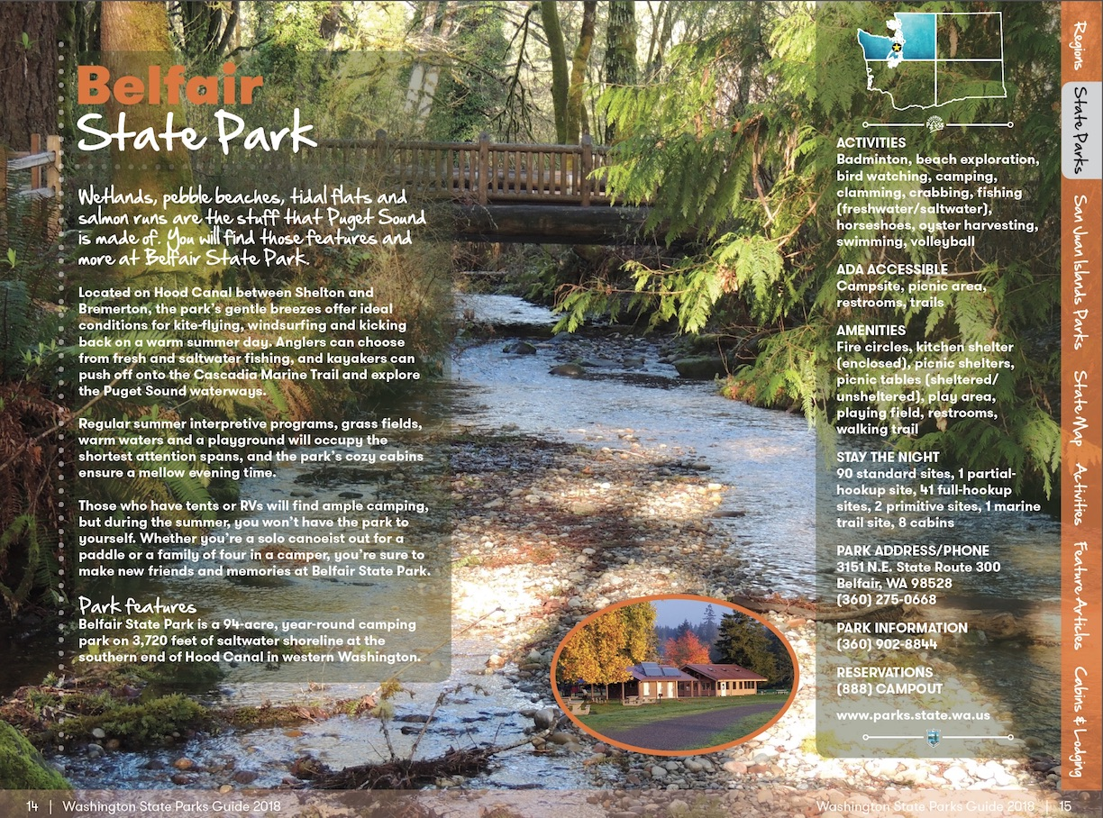 New state parks guide, picnic suggestions, and 'beach
